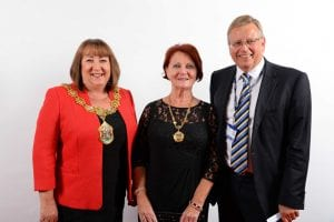 Mayor-and-Mayoress-with-chair-of-governor-Stephen-Barnes-for-web