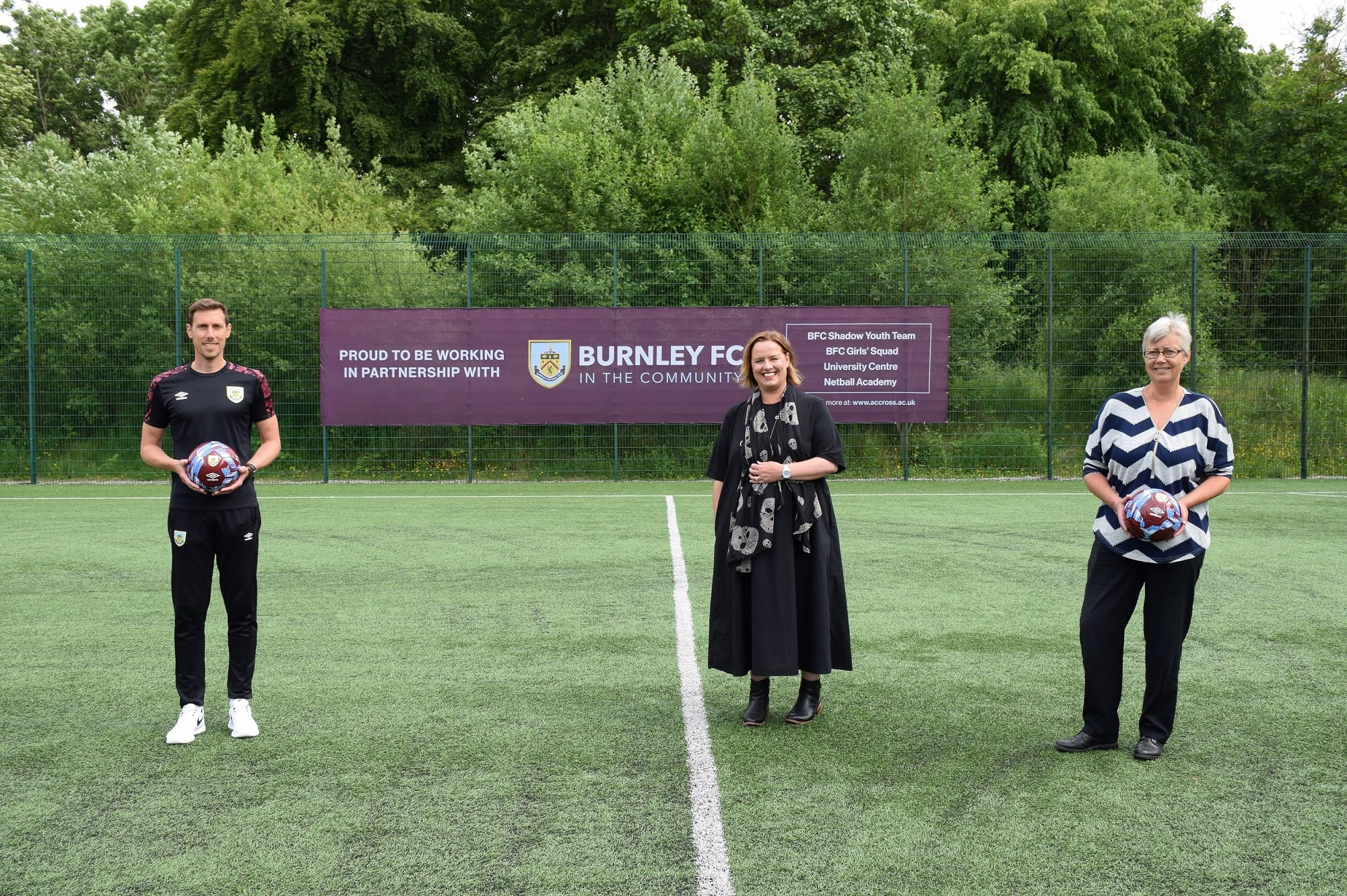 Nelson and Colne College Group's partnership with Burnley FC in the Community has expanded into Higher Education with a new university level qualification.